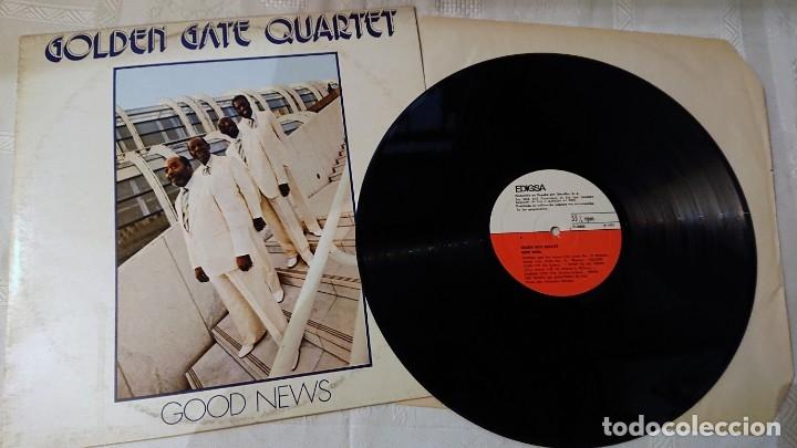 GOLDEN GATE QUARTET · GOOD NEWS · DISCO VINILO · EDIGSA 1982 DOO WOOP (Música - Discos - LP Vinilo - Jazz, Jazz-Rock, Blues y R&B)