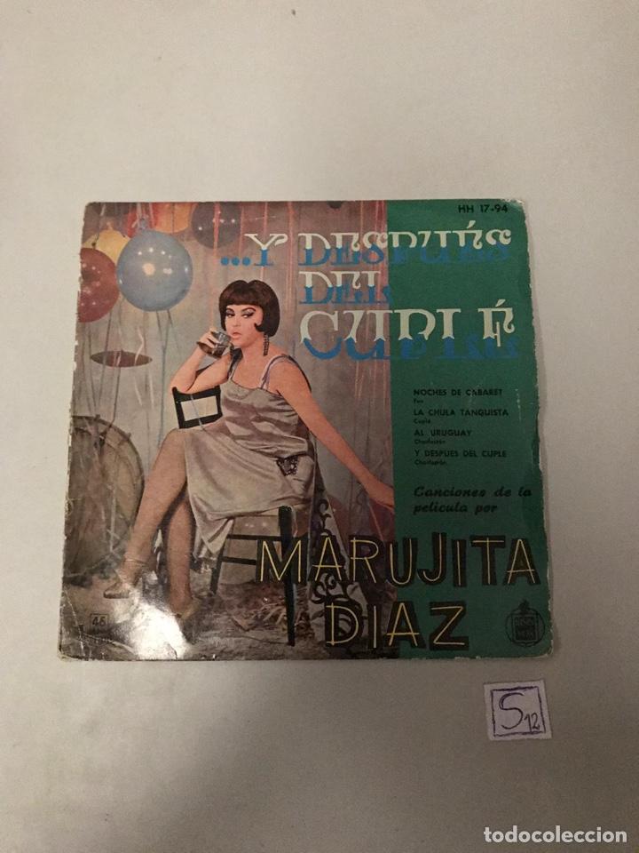 MARUJITA DÍAZ (Música - Discos - Singles Vinilo - Flamenco, Canción española y Cuplé)