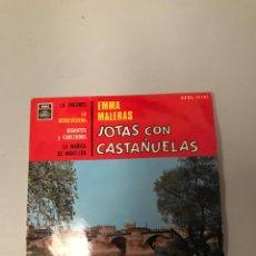 Dischi in vinile: JOTAS CON CASTAÑUELAS. Lote 176352460