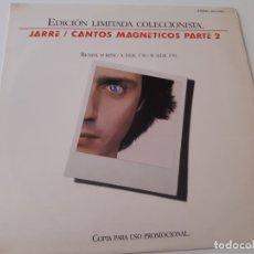 Discos de vinilo: JARRE- CANTOS MAGNETICOS PARTE 2 - SPAIN PROMO MAXI SINGLE 1981- JEAN MICHEL JARRE- VINILO NUEVO.. Lote 176352777