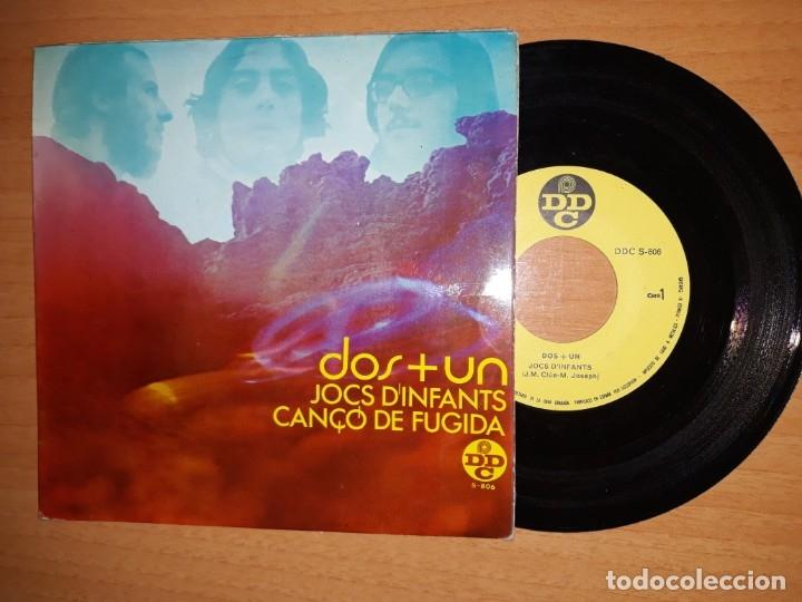 DOS + UN. JOC D' INFANTS ETC.. (Música - Discos de Vinilo - EPs - Jazz, Jazz-Rock, Blues y R&B)