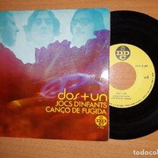 Discos de vinilo: DOS + UN. JOC D' INFANTS ETC... Lote 176354332