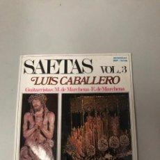 Discos de vinilo: LUIS CABALLERO. Lote 176354695