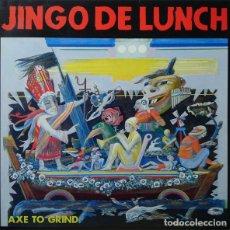 Discos de vinilo: JINGO DE LUNCH AXE TO GRIND. Lote 176355860