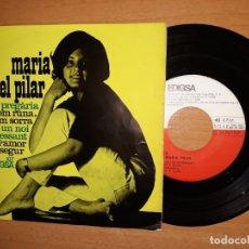 Discos de vinilo: MARÍA DEL PILAR.PREGARIA.COM RUNA COM SORRA.UN NOI INTERESSANT.ETC. Lote 176356529