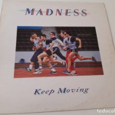 Discos de vinilo: MADNESS- KEEP MOVING - SPAIN LP 1984- VINILO EXC. ESTADO.. Lote 176356905