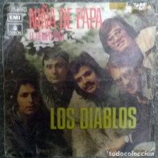 """Discos de vinilo: LOS DIABLOS. NIÑA DE PAPA """"L'OLYMPIA""""/ EL TIEMPO PASA. EMI-ODEON, SPAIN 1972 SINGLE. Lote 176364032"""
