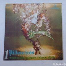 Discos de vinilo: VILLANCICOS. CAMPANA SOBRE CAMAPANA, ALEGRÍA, ALEGRÍA. CORO Y RONDALLA ALEGRÍA. TDKDS16. Lote 176364089