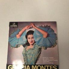 Discos de vinilo: GRACIA MONTES. Lote 176368480