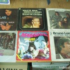 Discos de vinilo: LOTE DE 10 SINGLES GRUPOS Y SOLISTAS ESPAÑOLES AÑOS 60. Lote 176371609