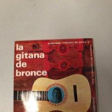 Discos de vinilo: LA GITANA DE BRONCE. Lote 176375353