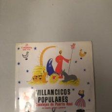 Discos de vinilo: VILLANCICOS POPULARES. Lote 176376070
