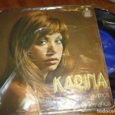 Discos de vinilo: KARINA - SINGLE - PEDIDO MINIMO 6 EUROS. Lote 176377322