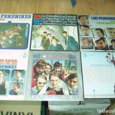 Discos de vinilo: LOTE 6 SINGLES PEKENIKES. Lote 176377844