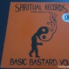 Discos de vinilo: SPIRITUAL RECORDS PRESENTS - BASIC BASTARD VOL 3. Lote 176378375