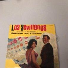 Discos de vinilo: LOS SEVILLANOS. Lote 176387815