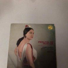Discos de vinilo: PERLITA DE HUELVA. Lote 176388700