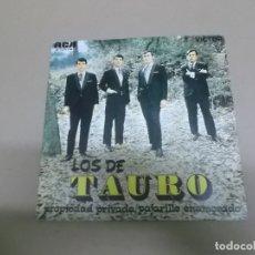 Discos de vinilo: LOS DE TAURO (SN) PROPIEDAD PRIVADA AÑO – 1970 - PROMOCIONAL. Lote 176390084