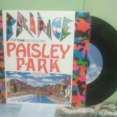 Discos de vinilo: PRINCE AND THE REVOLUTION PAISLEY PARK SINGLE FRANCIA 1985 PEPETO TOP. Lote 176391085