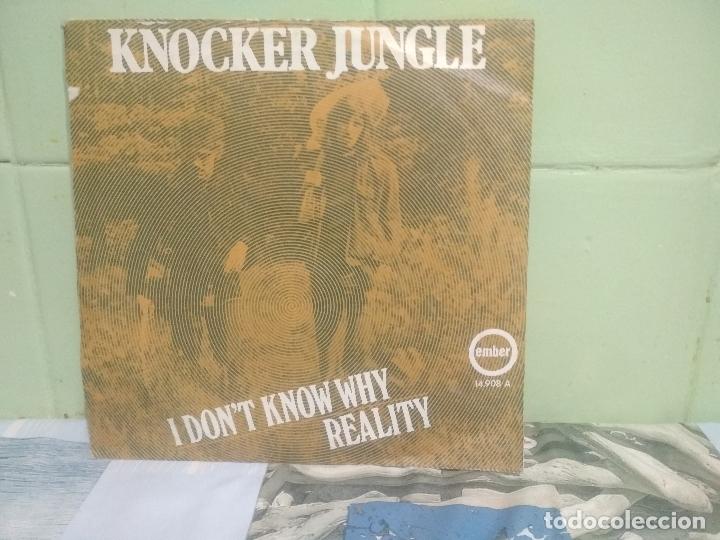 Discos de vinilo: KNOCKER JUNGLE I DONT KNOW WHY SINGLE SPAIN 1971 PEPETO TOP - Foto 2 - 176392067