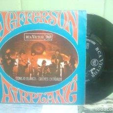 Discos de vinilo: JEFFERSON AIRPLANE CONEJITO BLANCO SINGLE SPAIN 1968 PEPETO TOP. Lote 176392318