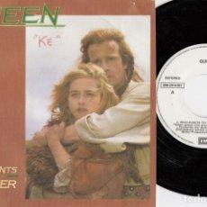 Discos de vinilo: QUEEN - WHO WANTS TO LIVE FOREVER - SINGLE DE VINILO EDICION ESPAÑOLA PROMOCIONAL #. Lote 176396668