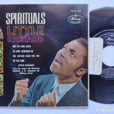 Discos de vinilo: LITTLE RICHARD - EP SPAIN PS - MINT * RIDE ON, KING JESUS. Lote 176399290
