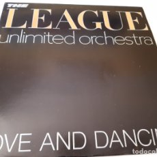Discos de vinilo: THE HUMAN LEAGUE : LOVE AND DANCING - SPAIN LP 1982- VINILO COMO NUEVO.. Lote 176400118