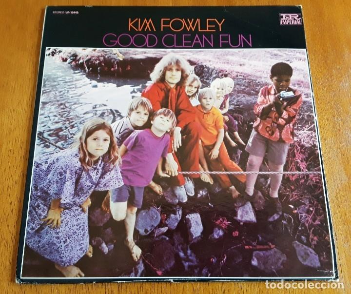 KIM FOWLEY - GOOD CLEAN FUN (IMPERIAL LP-12443 - USA 1969) PSYCH ROCK ORIGINAL LP (Música - Discos - LP Vinilo - Pop - Rock Extranjero de los 50 y 60)