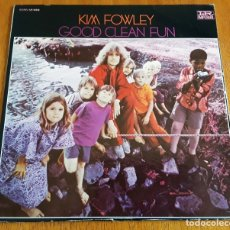 Discos de vinilo: KIM FOWLEY - GOOD CLEAN FUN (IMPERIAL LP-12443 - USA 1969) PSYCH ROCK ORIGINAL LP. Lote 176400679