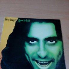 Discos de vinilo: ALICE COOPER - LP GOES TO HELL - 1976 EDICIÓN ESPAÑA - - BUEN ESTADO - VER FOTOS. Lote 176400683