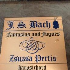 Discos de vinilo: J S BACH. Lote 176402789