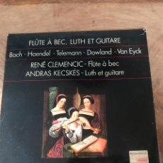 Discos de vinilo: FLUTE A BEC. Lote 176403495