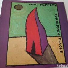 Discos de vinilo: MEAT PUPPETS- FORBIDDEN PLACES - UK LP 1991.. Lote 228843805