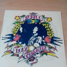Discos de vinilo: RORY GALLAGHER - LP TATTOO - EDICION ESPAÑOLA 1981 - BUEN ESTADO - VER FOTOS . Lote 176411393