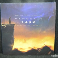 Discos de vinilo: BANDA SONORA - VANGELIS - 1492 - LA CONQUISTA DEL PARAISO - LP. Lote 176414205