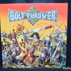 Discos de vinilo: BOLT THROWER - WARMASTER - LP GATEFOLD ERACHE. Lote 176414460