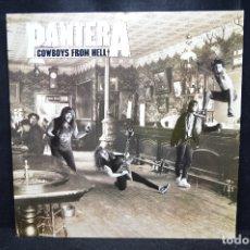 Discos de vinilo: PANTERA - COWBOYS FROM HELL - LP. Lote 176414794