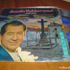 Discos de vinilo: JUANITO VALDERRAMA - SINGLE - PEDIDO MINIMO 6 EUROS. Lote 176414827