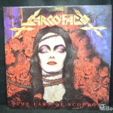 Discos de vinilo: SARCOFAGO - THE LAWS OF SCOURGE - LP. Lote 176414890