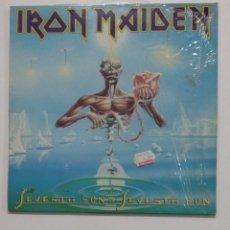Discos de vinilo: IRON MAIDEN - SEVENTH SON OF A SEVENTH SON. LP. TDKLP. Lote 176416960