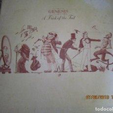 Discos de vinilo: GENESIS - A TRICK OF THE TAIL LP - ORIGINAL U.S.A. - ATCO RECORDS 1976 - GATEFOLD COVER -. Lote 176418288