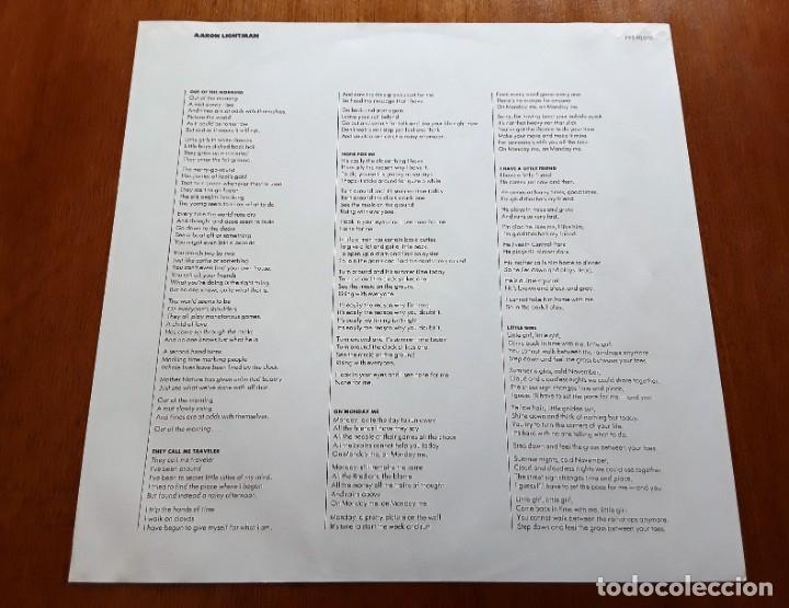 Discos de vinilo: AARON LIGHTMAN (POPPY PYS-40010 - USA 1969) PSYCH POP & FOLK ORIGINAL LP - Foto 5 - 176420359