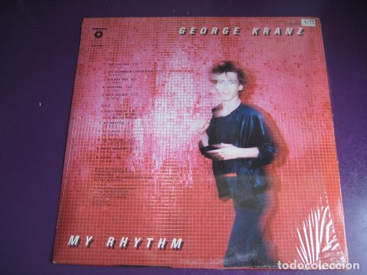 Discos de vinilo: George Kranz LP VICTORIA PRECINTADO 1985 - My Rhythm - ITALODISCO ELECTRONICA DISCO POP - Foto 2 - 176422330