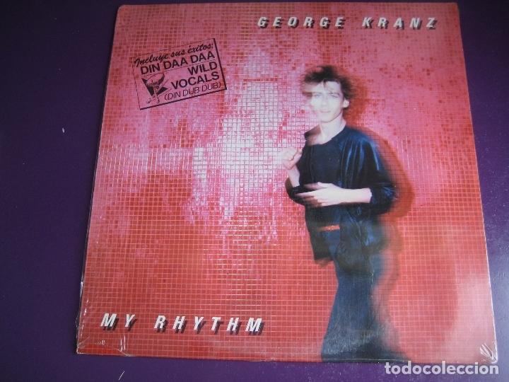 GEORGE KRANZ LP VICTORIA PRECINTADO 1985 - MY RHYTHM - ITALODISCO ELECTRONICA DISCO POP (Música - Discos - LP Vinilo - Disco y Dance)