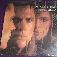 Discos de vinilo: GAZEBO LP BABY RECORDS 1984 - TELEPHONE MAMA - ITALODISCO SYNTH POP - SIN ESTRENAR. Lote 176422682