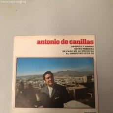 Discos de vinilo: ANTONIO DE CANILLAS. Lote 176424853