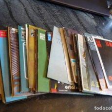 Discos de vinilo: ADAMO. 39 EP´S Y SINGLE, VER IMAGENES. CORRECTA CONSERVACION, FRANCÉSES Y ESPAÑOLES.. Lote 176424888