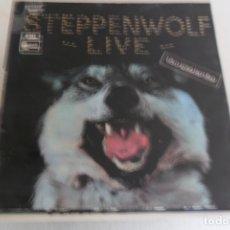 Discos de vinilo: STEPPENWOLF - LIVE 1970 . Lote 176425979