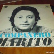 Discos de vinilo: MARITO - SINGLE - PEDIDO MINIMO 6 EUROS. Lote 176427773